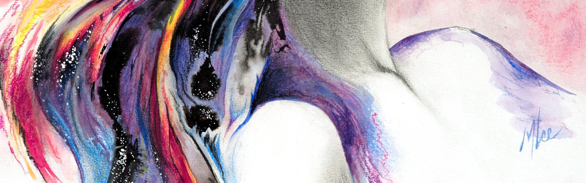 mixed media painting, 18x24