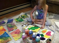 Art Camp pre painting